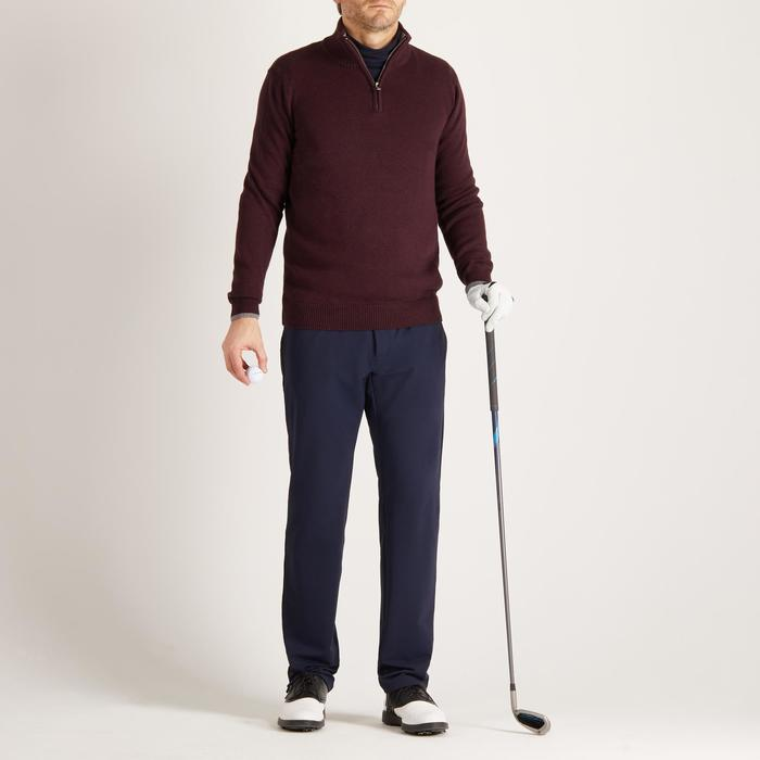 MEN'S NAVY COLD-WEATHER GOLFING PULLOVER - 1490328