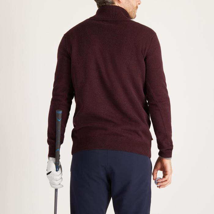 MEN'S NAVY COLD-WEATHER GOLFING PULLOVER - 1490330