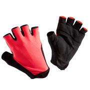 Kolesarske rokavice Roadr 500 – neonsko roza