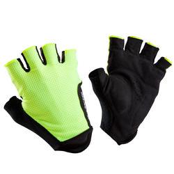 Fahrrad-Handschuhe Rennrad 500 gelb