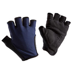 Roadr 500 Cycling Gloves - Navy Blue