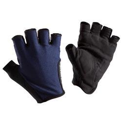 Fietshandschoenen Roadr 500 marineblauw