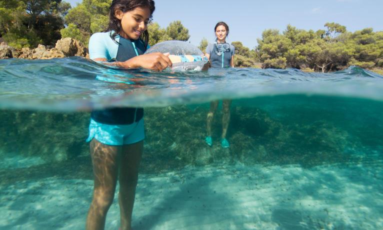 olu 100 bouée d'observation de snorkeling subea