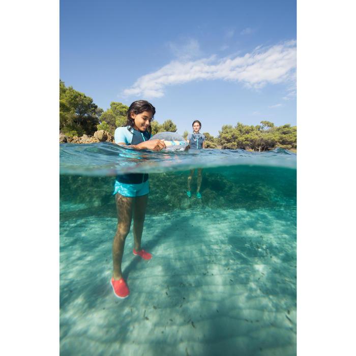 Chaussures aquatiques Aquashoes 120 enfant bleues jaunes - 1490389