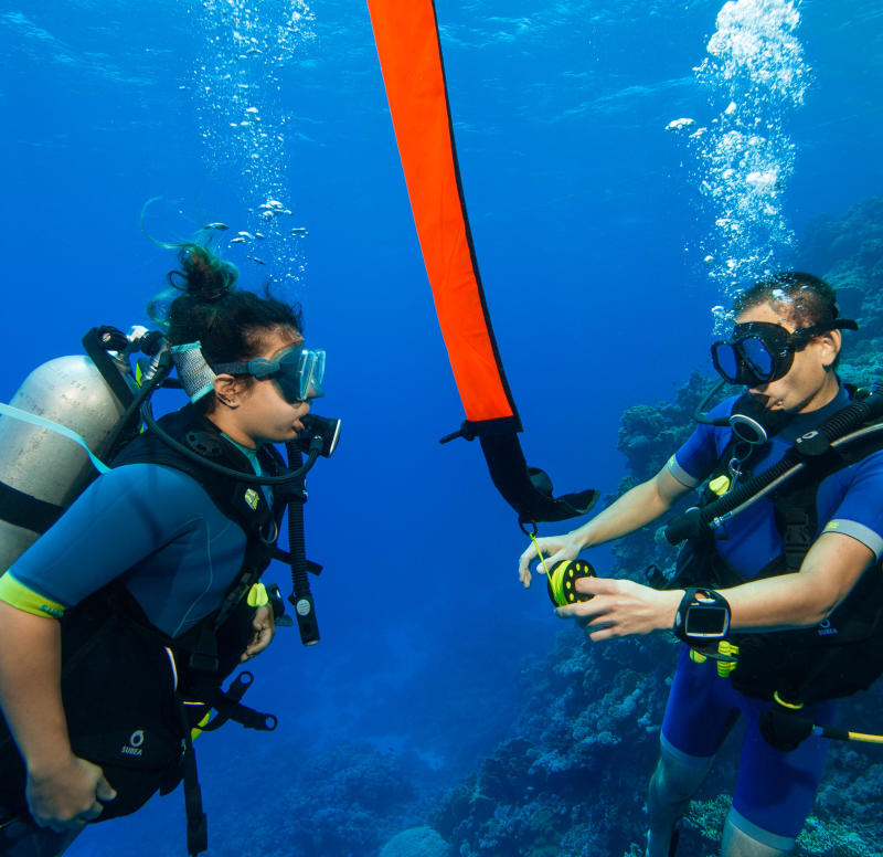 Conseils pour une plongée en binôme