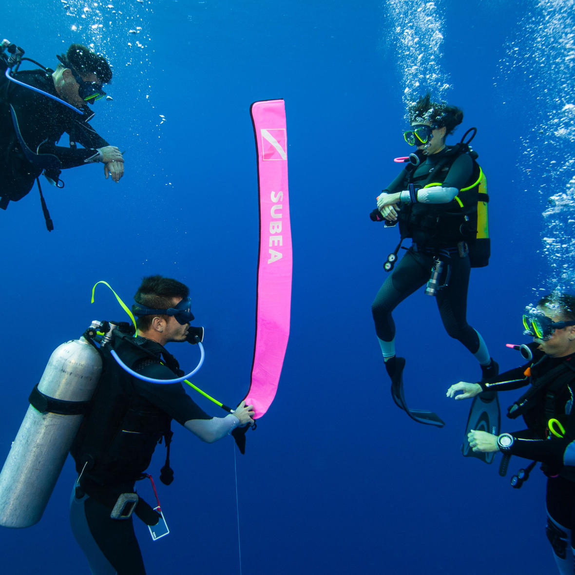 maintaining your diving buoy subea