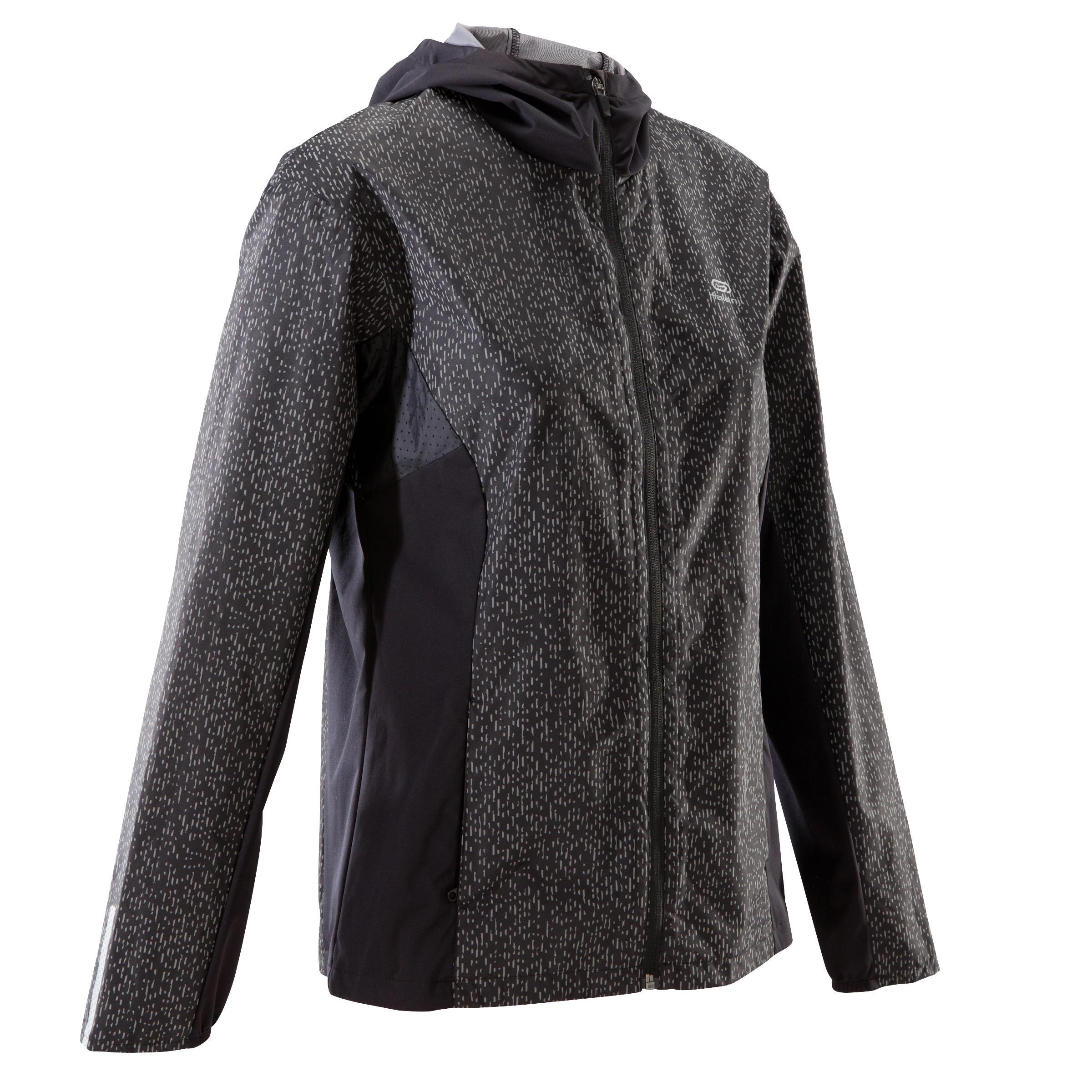 Jachetă Run Rain Negru Damă imagine