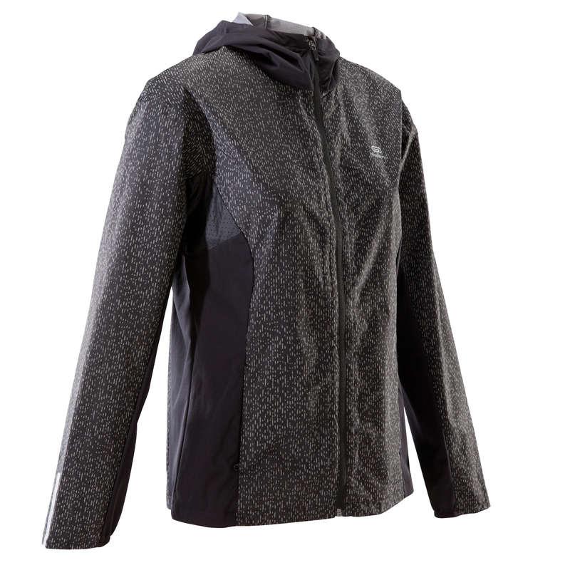WOMAN INTERMED JOG RAIN PROTECT CLOTHES Trčanje - Jakna Run Rain ženska KALENJI - Jakne i prsluci za trčanje