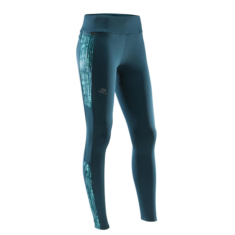 COLLANT CHAUD COURSE FEMME RUN WARM+ PETROLE