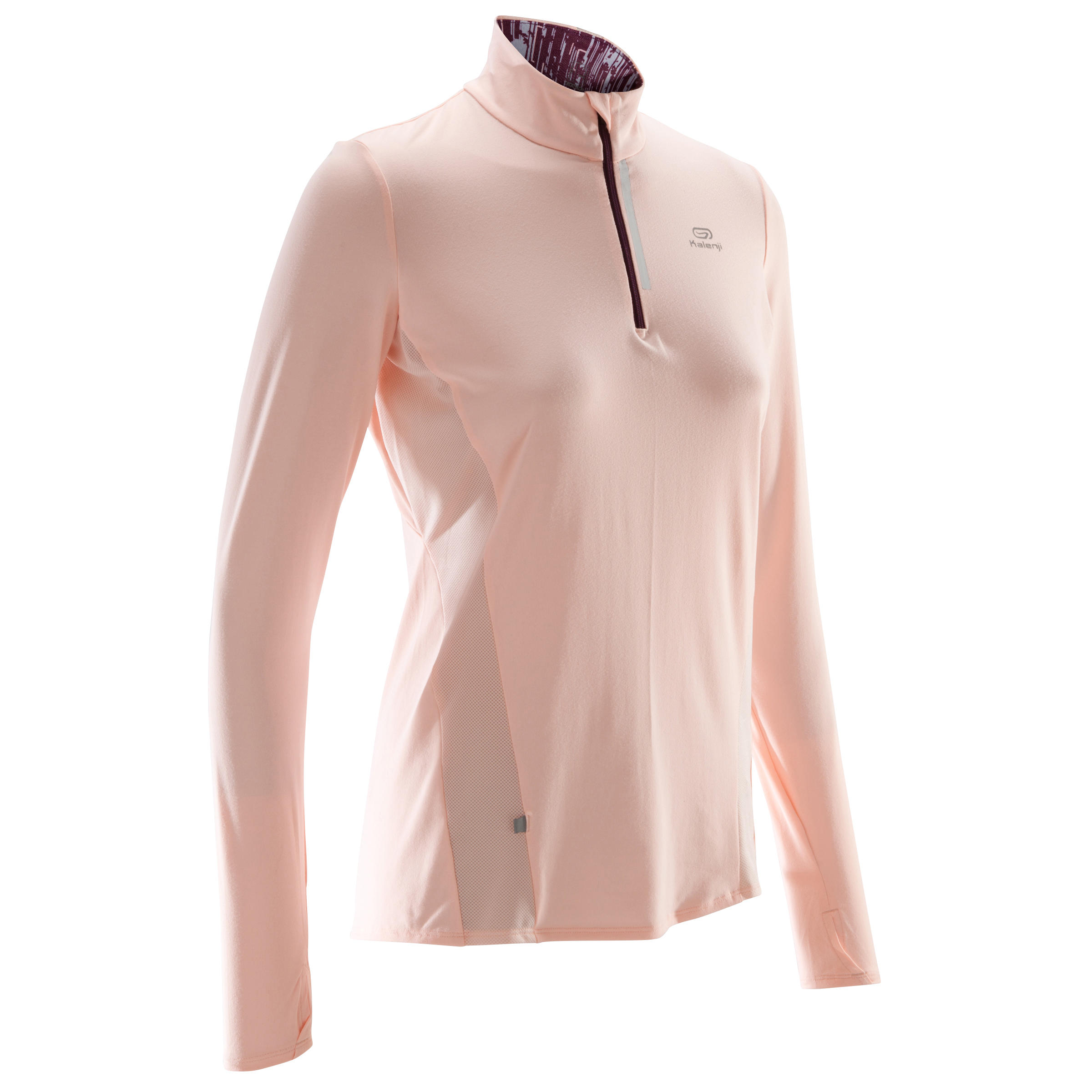 Rose Manches Longues Clair Run Femme Maillot Jogging DryZip EDIW9H2Y