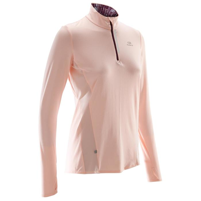 MAILLOT MANCHES LONGUES JOGGING FEMME RUN DRY+ ZIP - 1490526