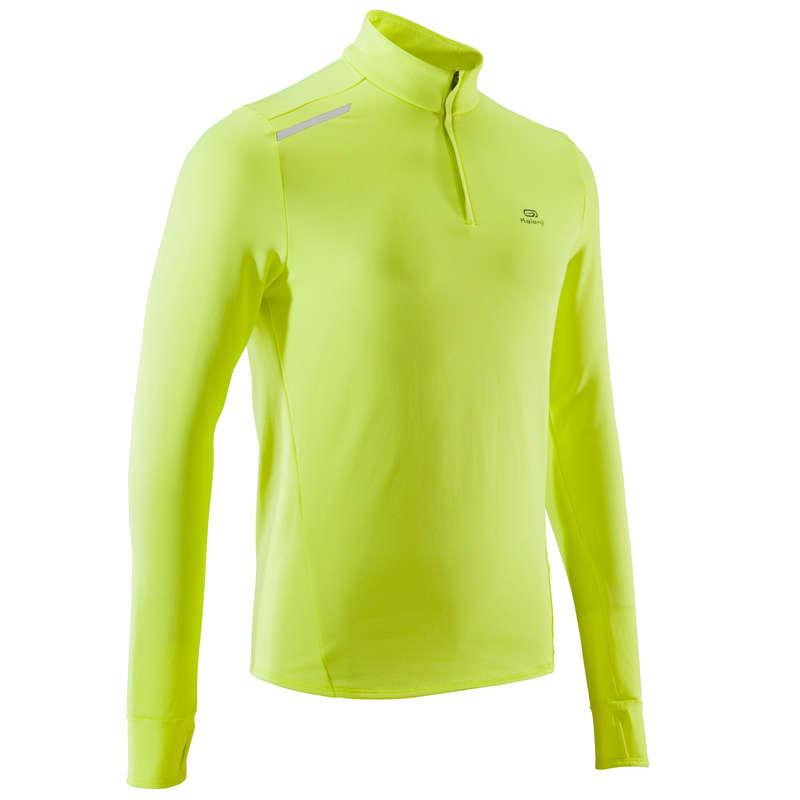 Herren Kälteschutz Laufbekleidung Einsteiger Herrenbekleidung - Laufshirt Langarm Warm Herren KALENJI - Nach Sportart