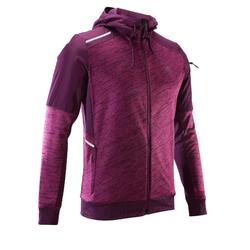RUN WARM+ MEN'S RUNNING JACKET - MAROON