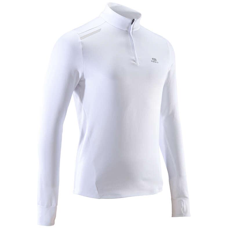 ABBIGLIAMENTO RUNNING BENESSERE PROTEZIO Running, Trail, Atletica - T-shirt uomo RUN WARM bianca KALENJI - Running, Trail, Atletica
