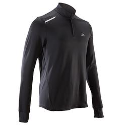 CAMISETA MANGA LARGA RUNNING HOMBRE RUN WARM NEGRO