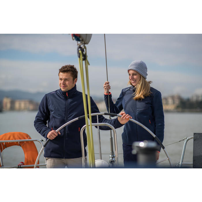 Polaire chaude de voile INSHORE 900 Femme Navy