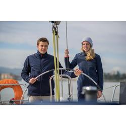 Fleecejacke Segeln Sailing 500 warm Herren marineblau