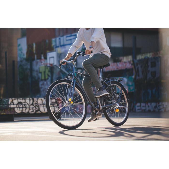 City Bike 28 Zoll Elops 120 HF Herren graublau
