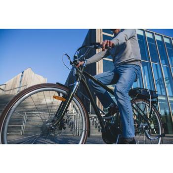 Elektrische stadsfiets Elops 920 E met hoog frame