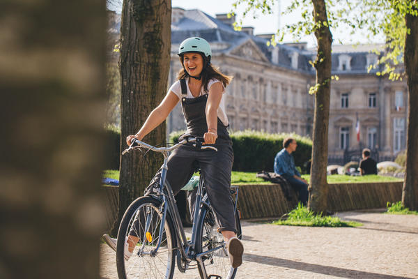 les bienfaits du vélo, velo ville decathlon