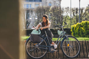 Vélo elops 100