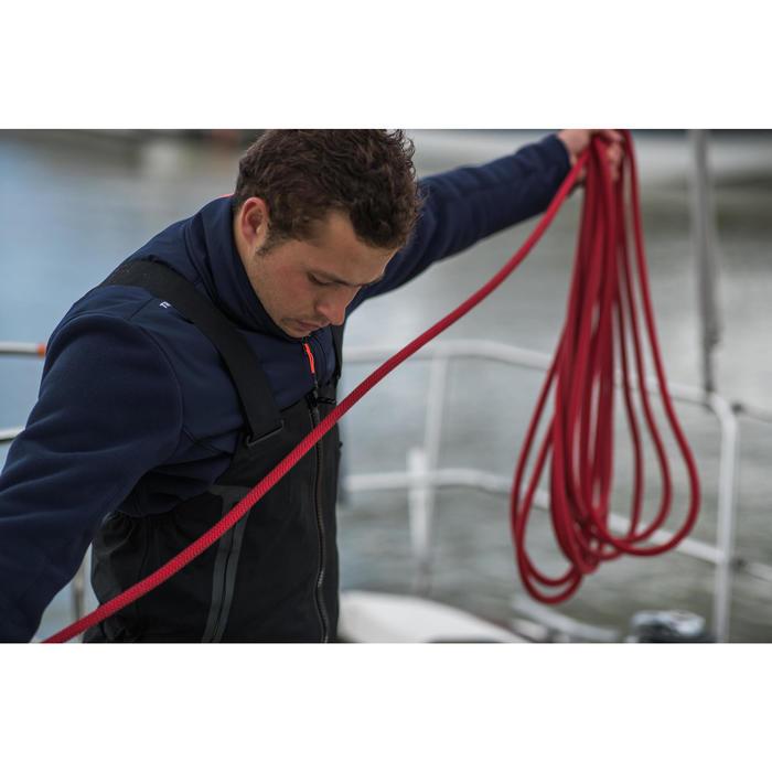 Polaire chaude de voile homme SAILING 500 Navy