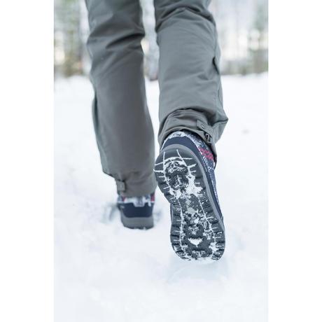 0ce03fc96bc Chaussures de randonnée neige femme SH500 x-warm high bleu. Previous. Next