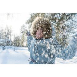 Botas de senderismo nieve júnior SH520 x-warm marrón