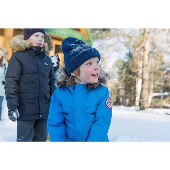 Veste de randonnée neige junior SH500 x-warm bleue