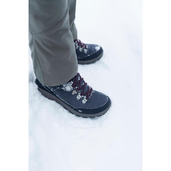 Wandelschoenen voor de sneeuw dames SH500 X-warm high grijs