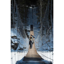 Wanderhose Winterwandern SH100 X-Warm Kinder grau