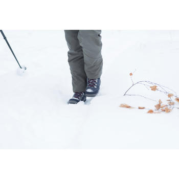 SH500 X-Warm High Women's Snow Hiking Shoes - Blue