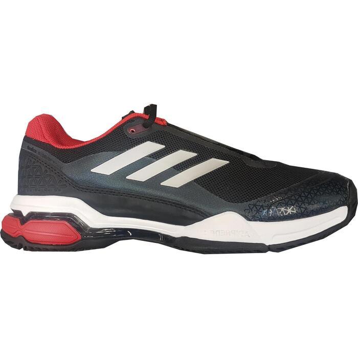 Tennisschoenen voor heren Barricade Club multicourt zwart rood