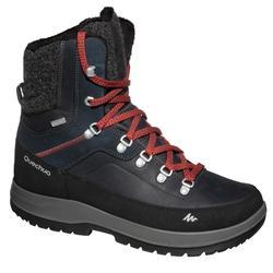 Snowboots heren SH500 X-warm high blauw