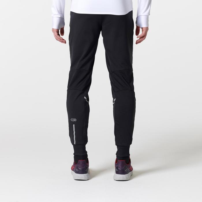 Heren loopbroek Run Warm+ zwart - 1490928