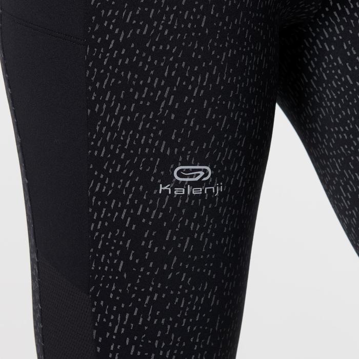 Warme hardloopbroek voor dames Run Warm+ zwart