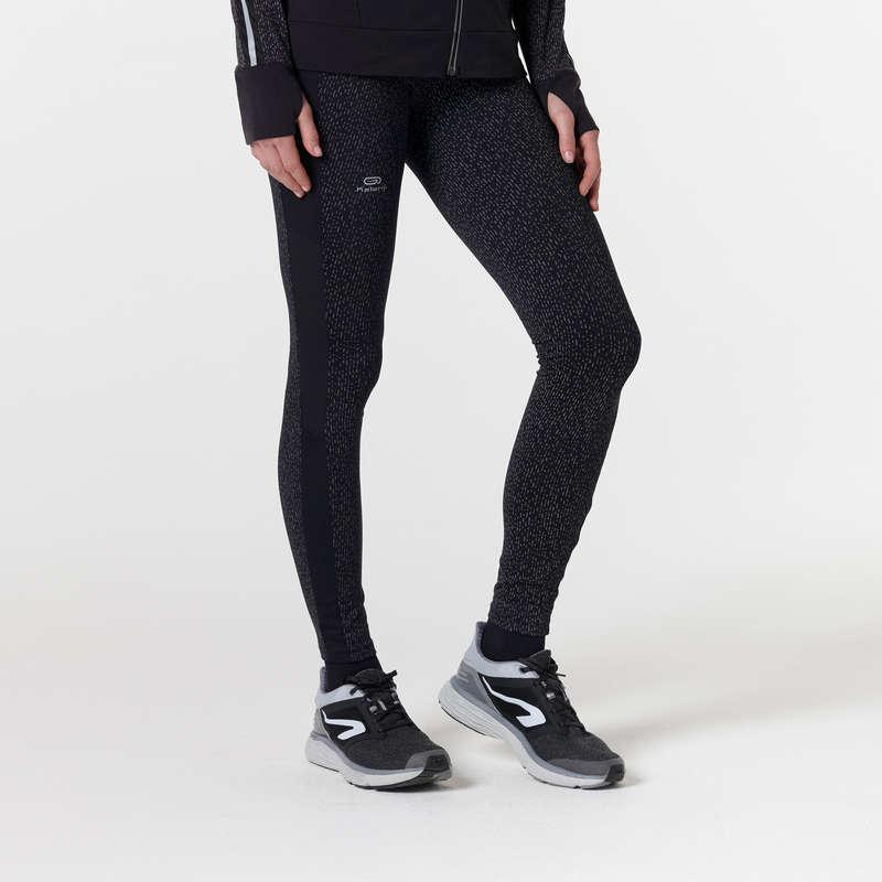 KADIN DÜZENLİ KOŞU SOĞUK HAVA GİYİM Koşu - RUN WARM+ TAYT  KALENJI - Kadın Koşu Kıyafetleri
