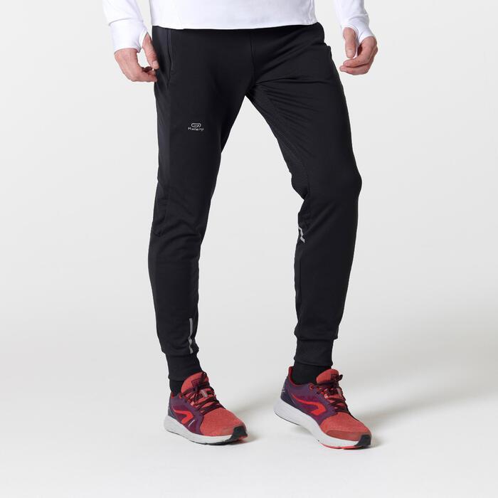 Heren loopbroek Run Warm+ zwart - 1491000