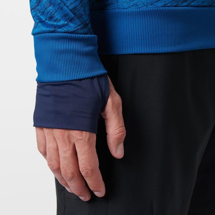 Hardloopshirt met lange mouwen voor heren Run Warm+ blauw