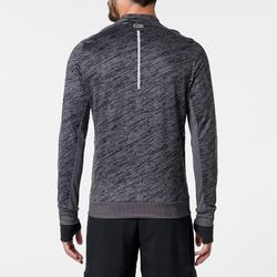 CAMISETA MANGA LARGA RUNNING RUN WARM+ HOMBRE GRIS