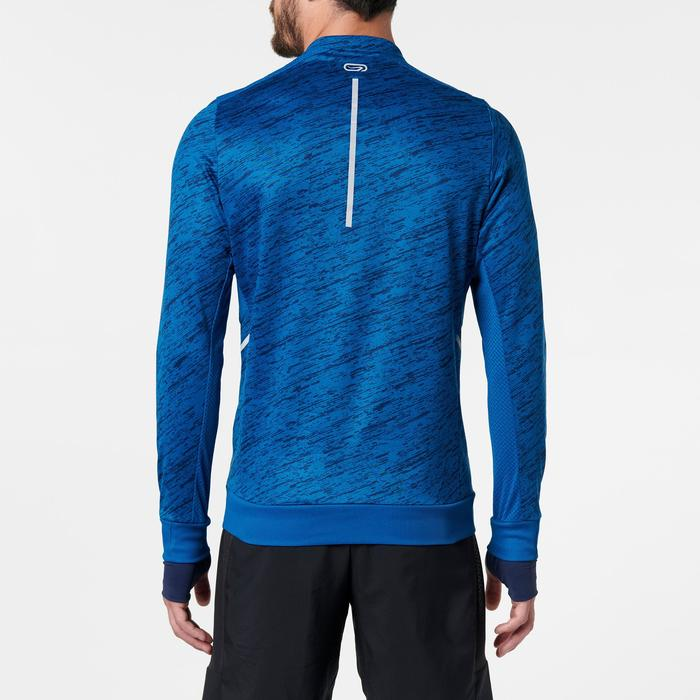 CAMISETA MANGA LARGA RUNNING RUN WARM+ HOMBRE AZUL