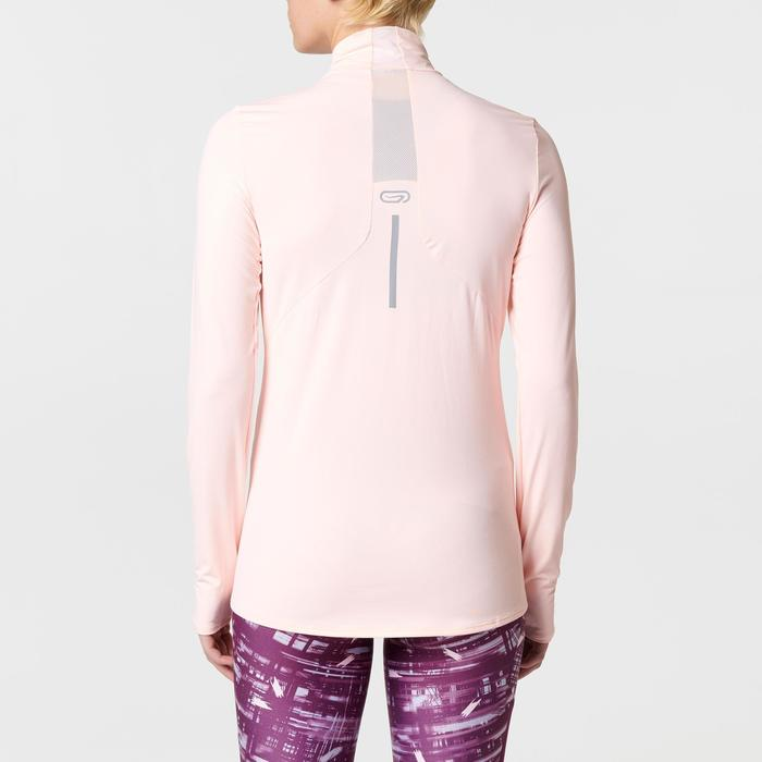 MAILLOT MANCHES LONGUES JOGGING FEMME RUN DRY+ ZIP - 1491128