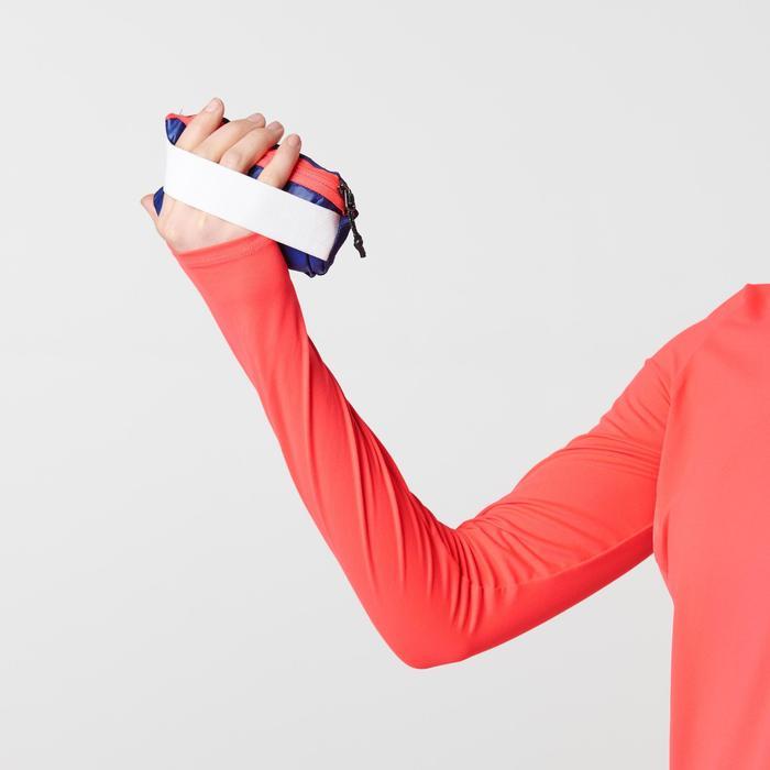 GILET SANS MANCHE JOGGING FEMME RUN WIND CORAIL - 1491129