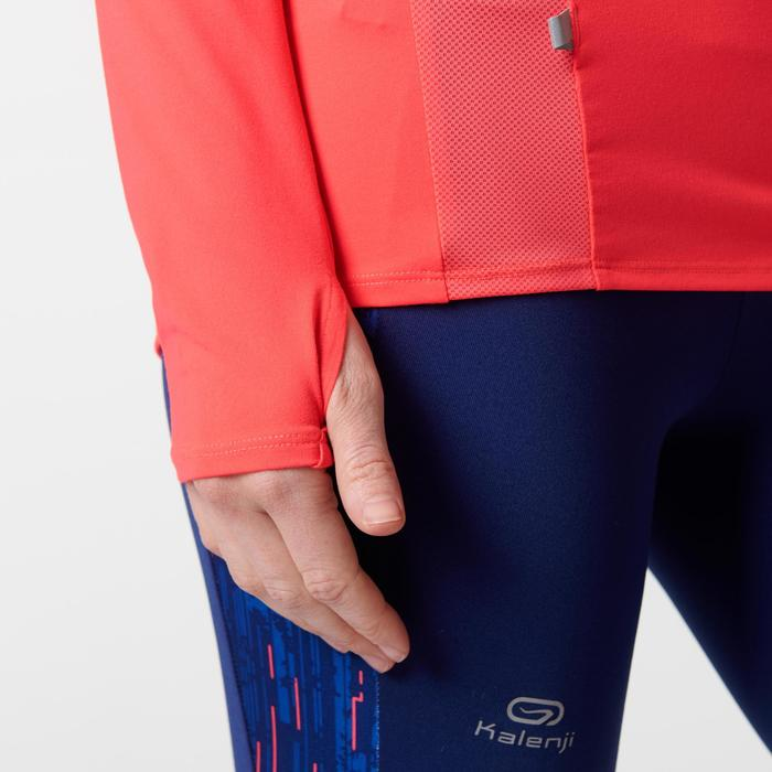 MAILLOT MANCHES LONGUES JOGGING FEMME RUN DRY+ ZIP - 1491140