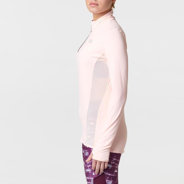 MAILLOT MANCHES LONGUES JOGGING FEMME RUN DRY+ ZIP - 1491152