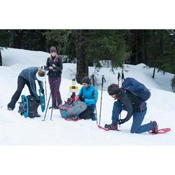 Snowboots heren SH520 X-warm mid zwart
