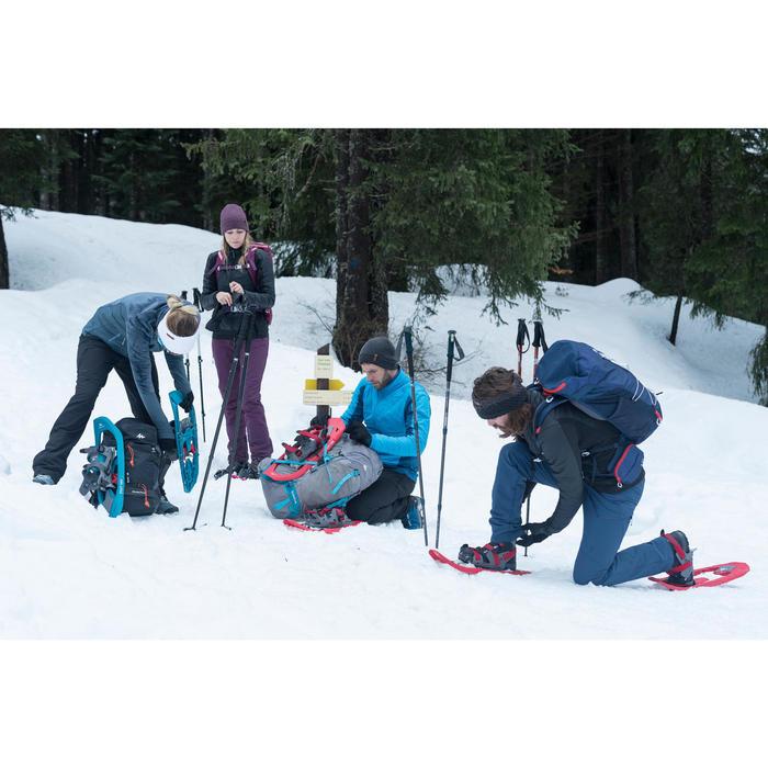 Winterschuhe Winterwandern SH520 X-Warm wasserdicht Damen schwarz