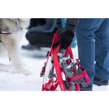 Raquettes à neige de randonnée SH100 Inuit rouge - 1491175
