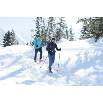 Heren wandelbroek voor de sneeuw SH500 X-warm stretch zwart