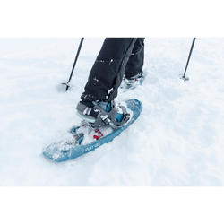 Wandelschoenen voor de sneeuw dames SH520 X-warm mid blauw